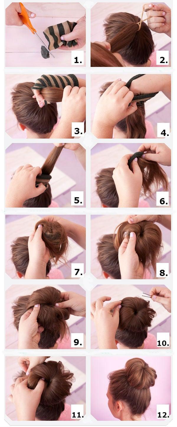 Укладки для волос пошагово с