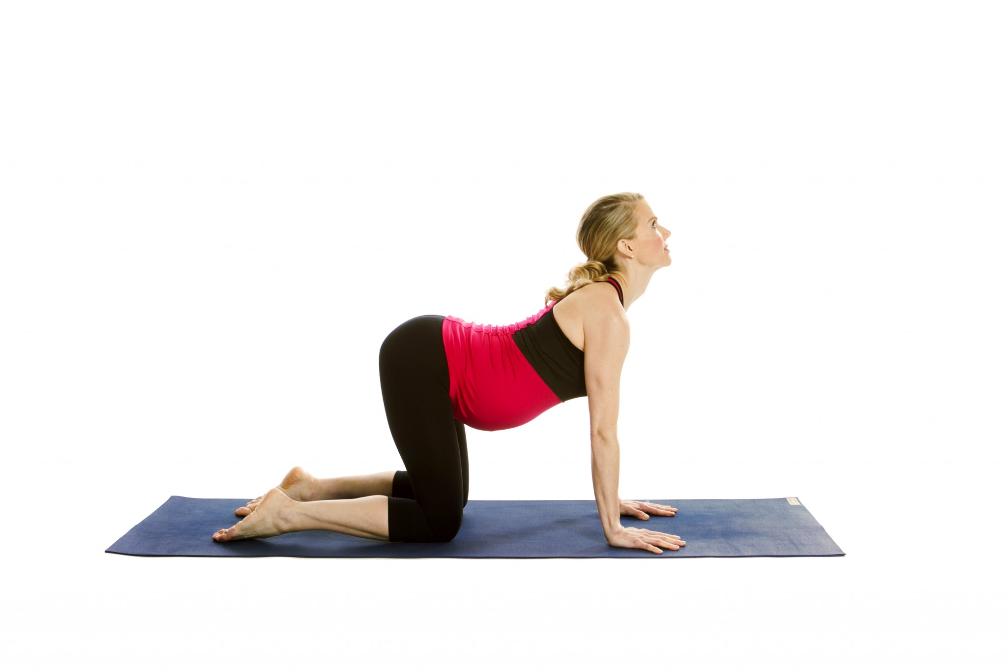 5. The Cat-Cow Poses - The Best Yoga Poses for Pregnant Women