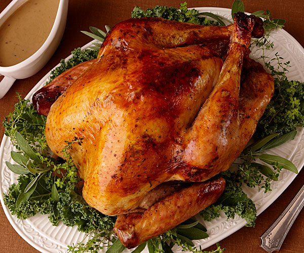Turkey breast in the oven