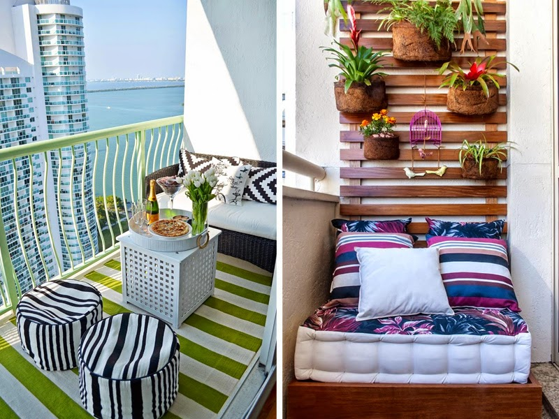10 clever ways to improve your balcony her beauty for Balcony seating