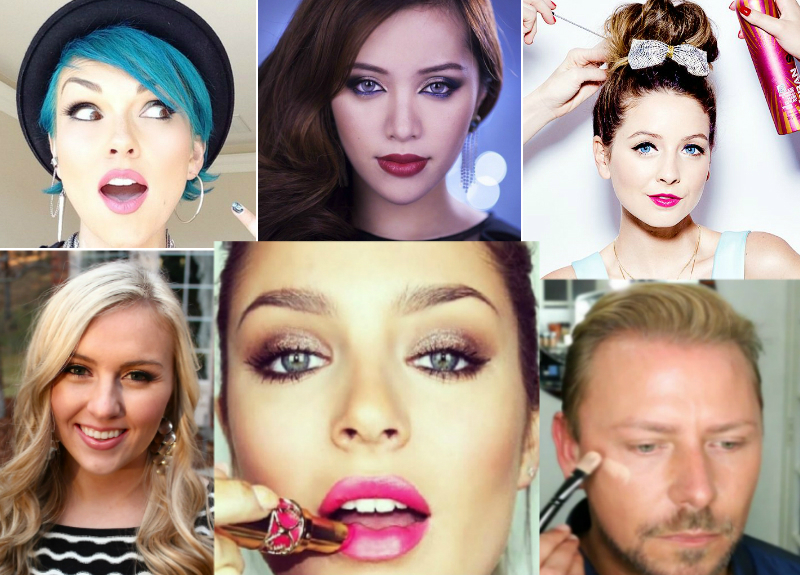 Top 10 Youtube Beauty and Makeup Gurus : Her Beauty