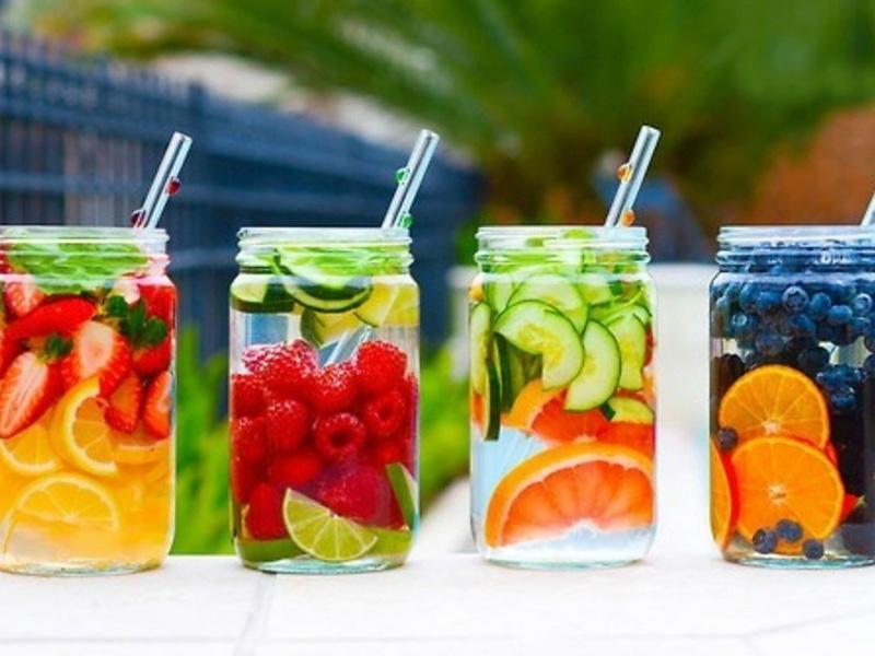 Напитки на лето своими руками