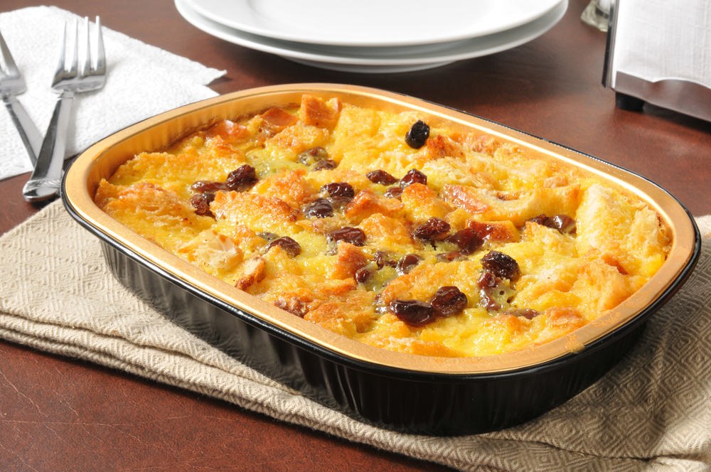 roasted parsnip bread pudding savory bread pudding is a delicious ...