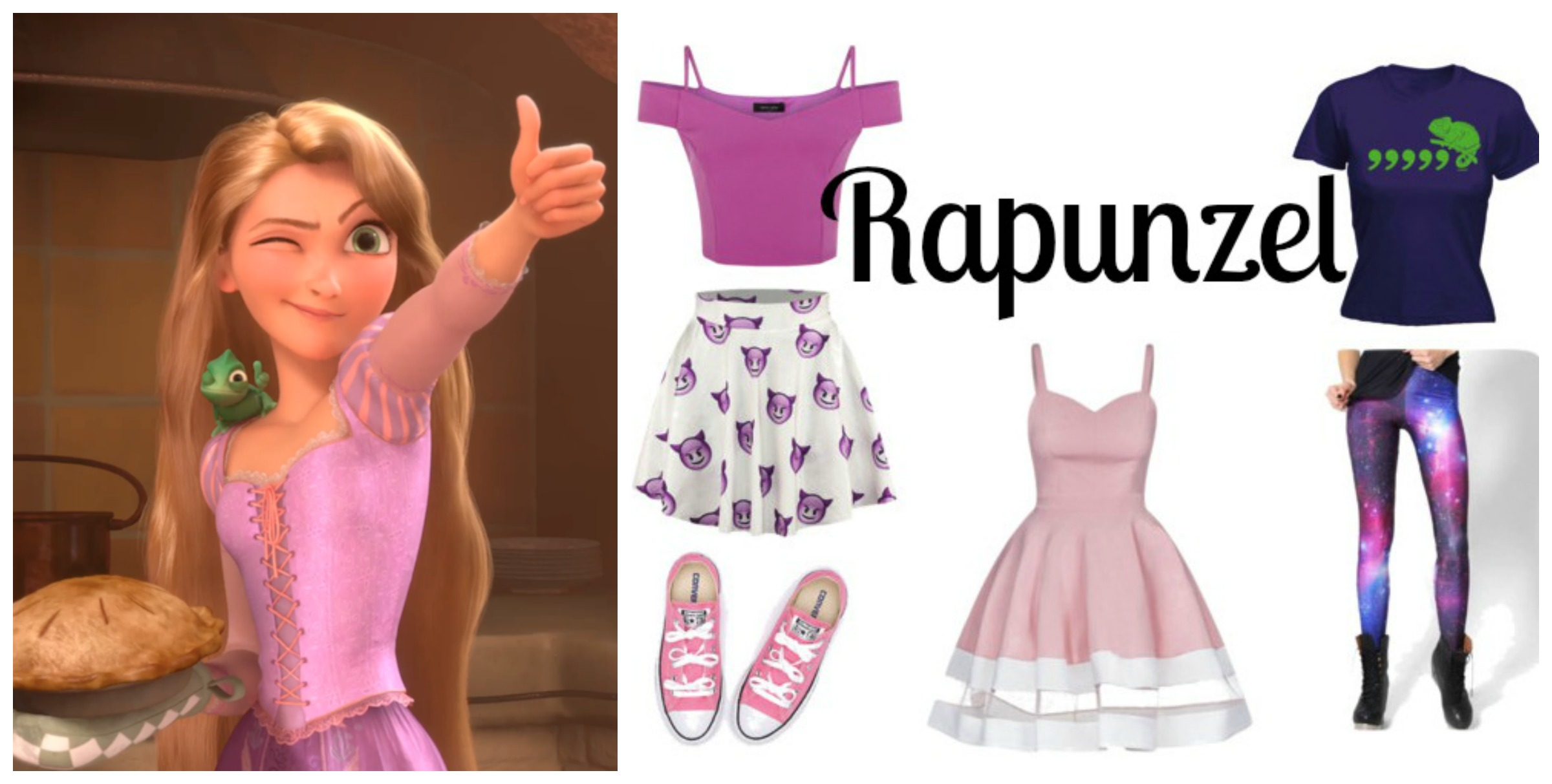Modern Disney Princess Outfits You Can Wear Every Day