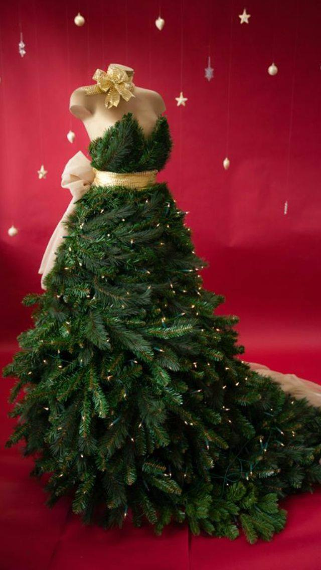 Forget Ugly Christmas Sweaters. Christmas Tree Dresses Are ...