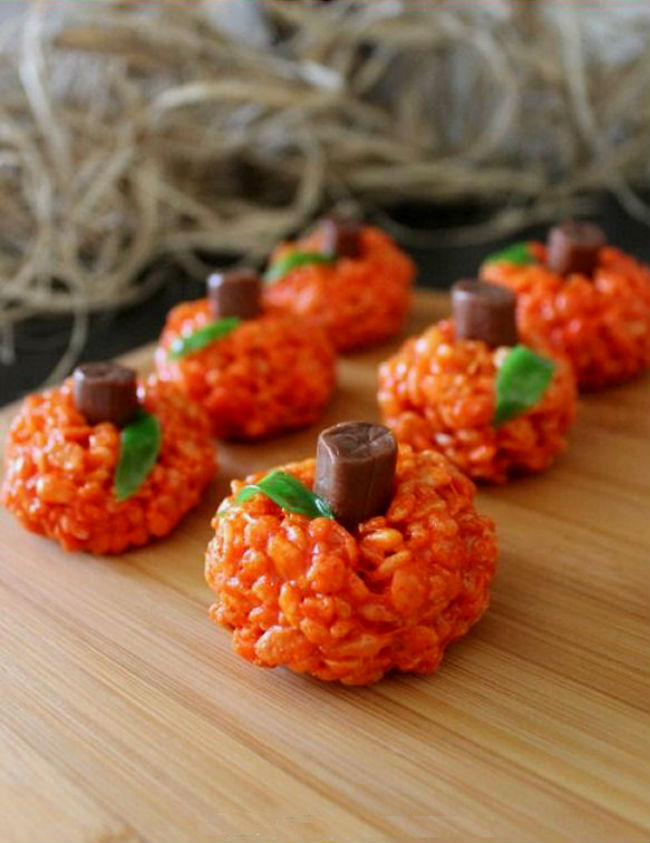 8 creative pinterest perfect snacks for a halloween party for Creative ideas for halloween treats
