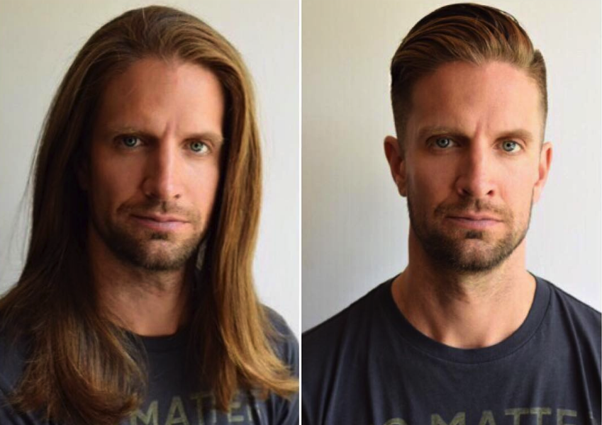 Long Hair vs Short Hair Men's Incredible Transformations