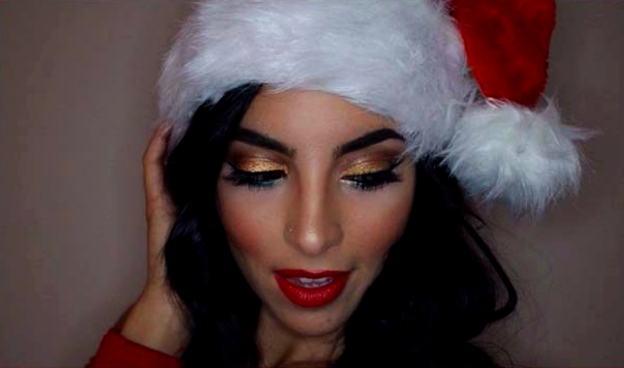 9 Christmas Makeup Ideas for Your Inspiration0