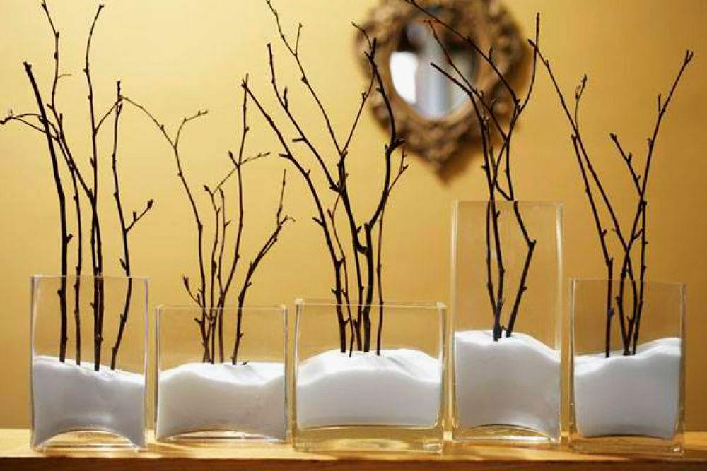 Декор ветки дерева