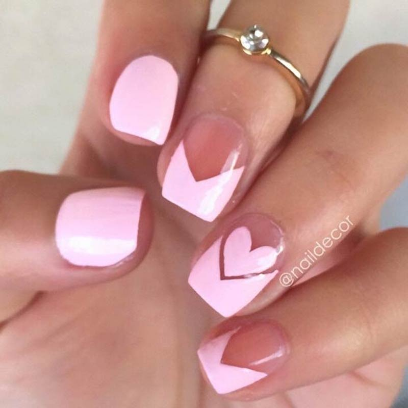 Nail Art Valentines: 15 So-Pretty Nail Art Designs For Valentine's Day