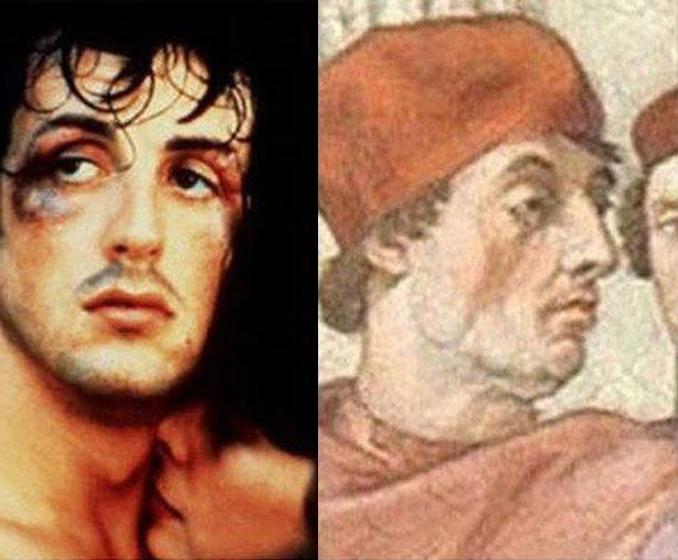 04-celebrities with-historical-doppelgangers-stallone