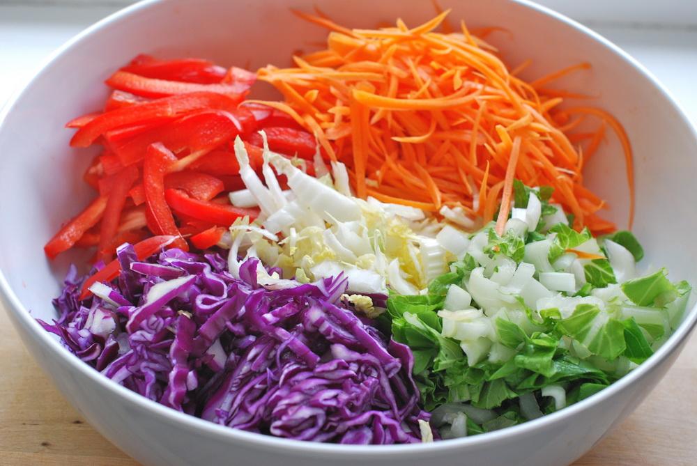 Витаминный салат рецепт