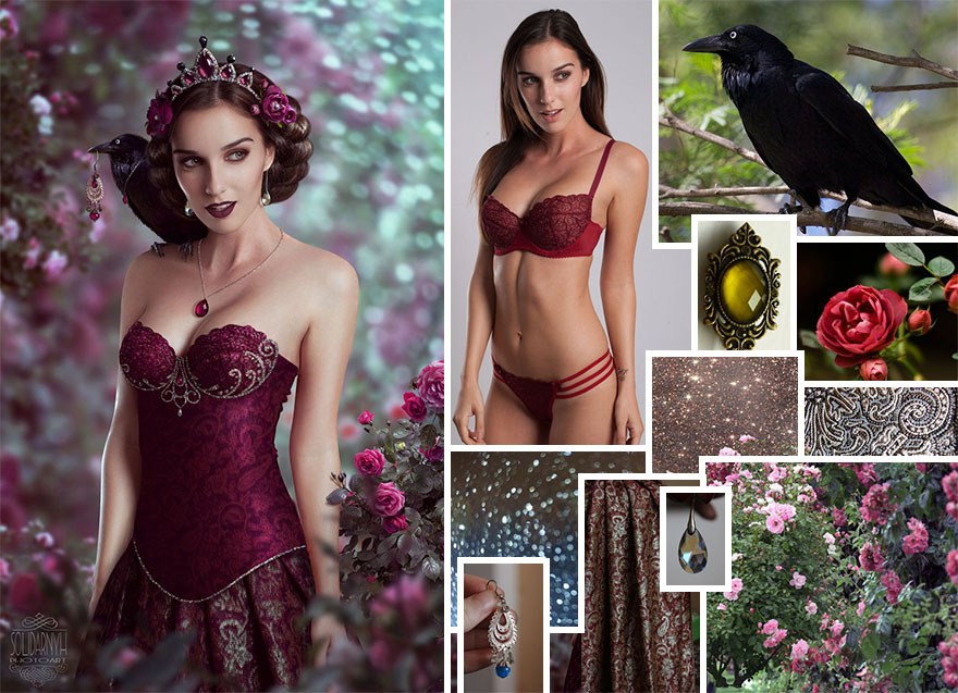 1_This Ukranian Artist Uses Photoshop To Make Gorgeous Fairytale Images