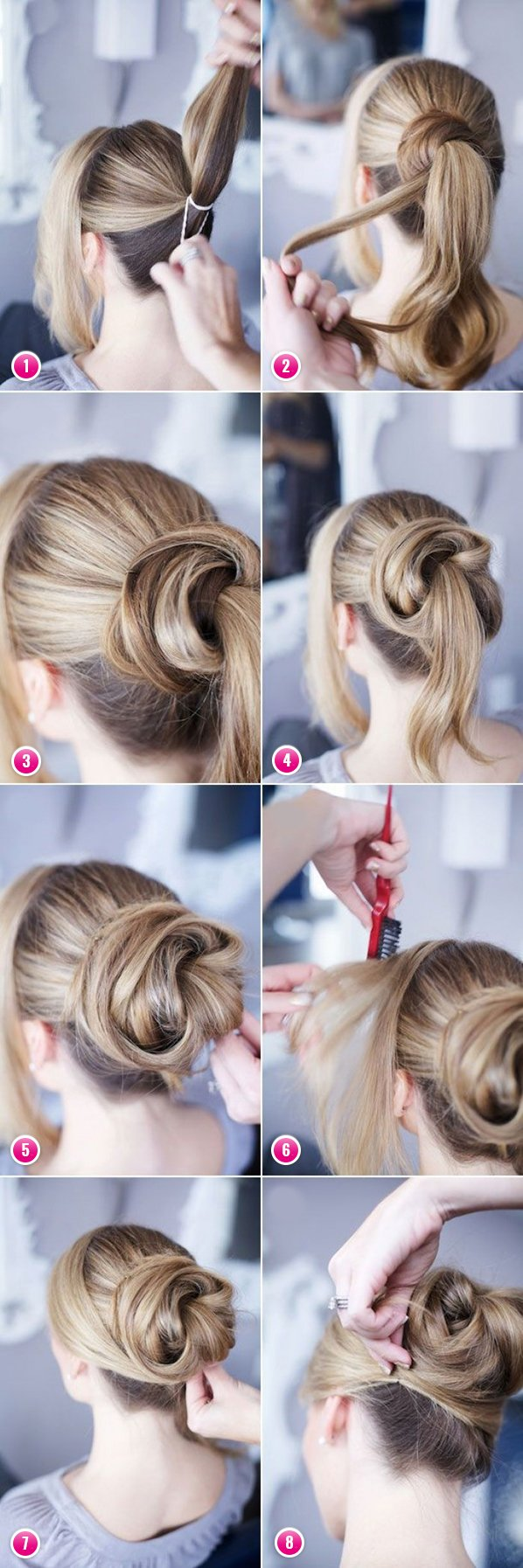 Creative hairstyles for long hair