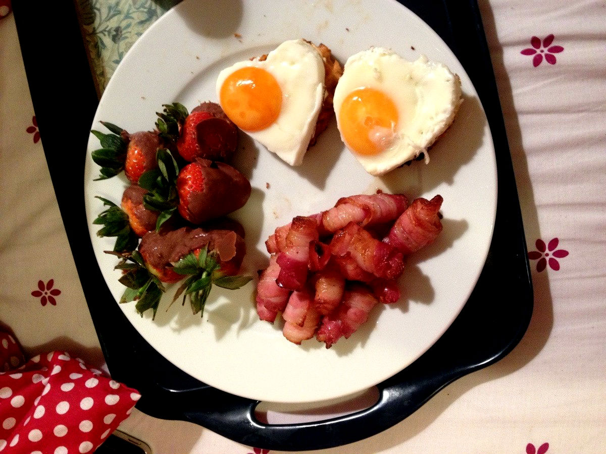 Heart Shaped Food - breakfast