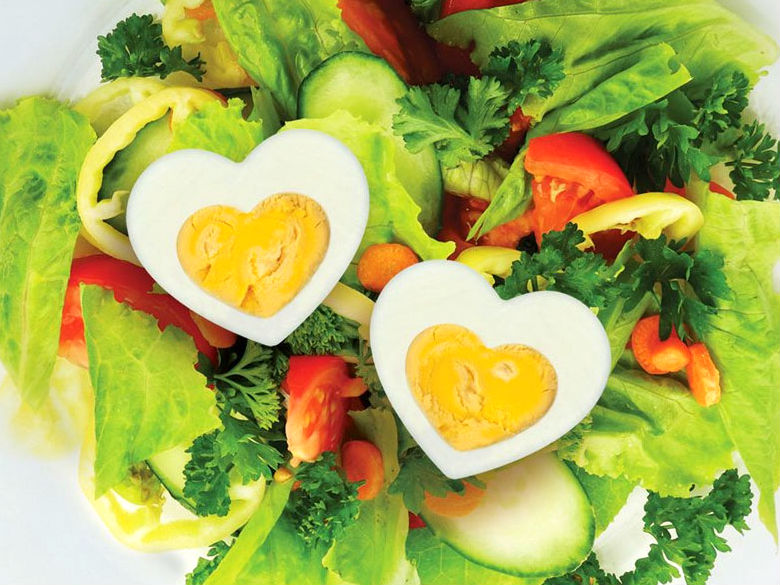 Heart Shaped Food - lunch