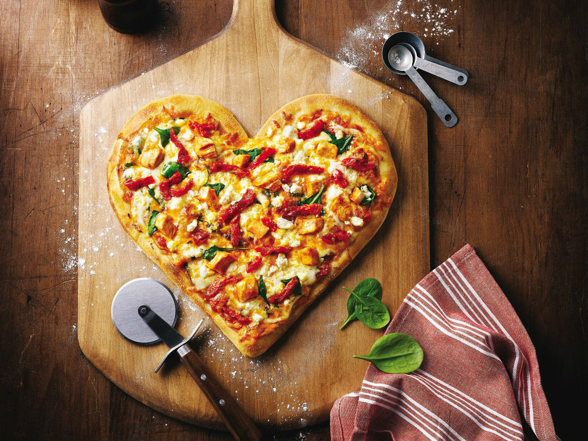 Heart Shaped Food - dinner