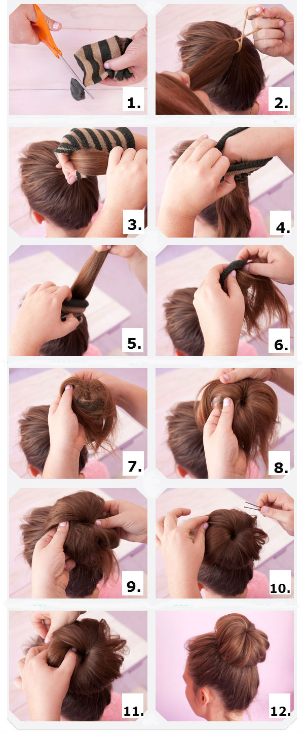 How To Do A Hair Bun