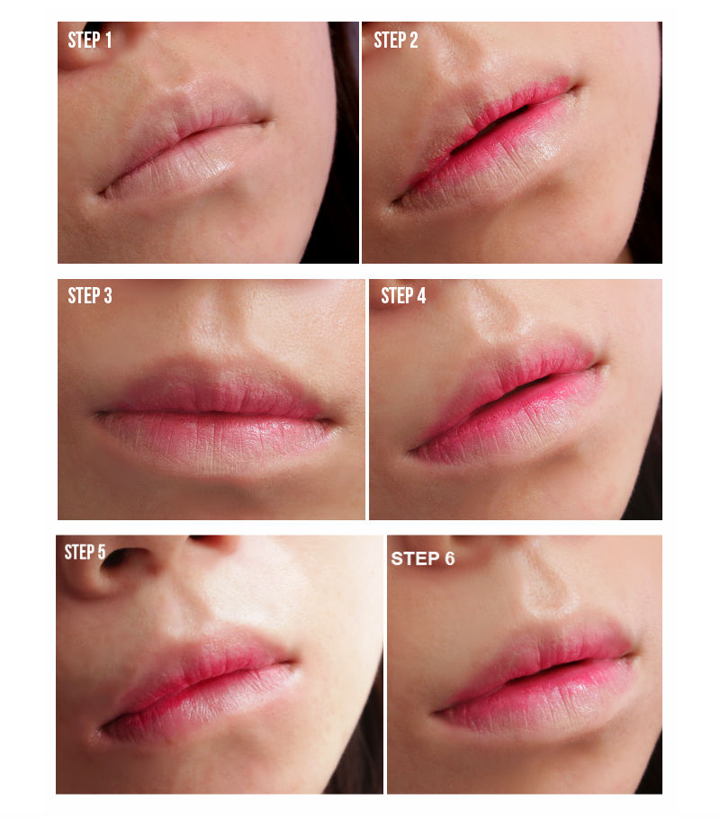 Simple Tutorial on How to Get Gradient Lips