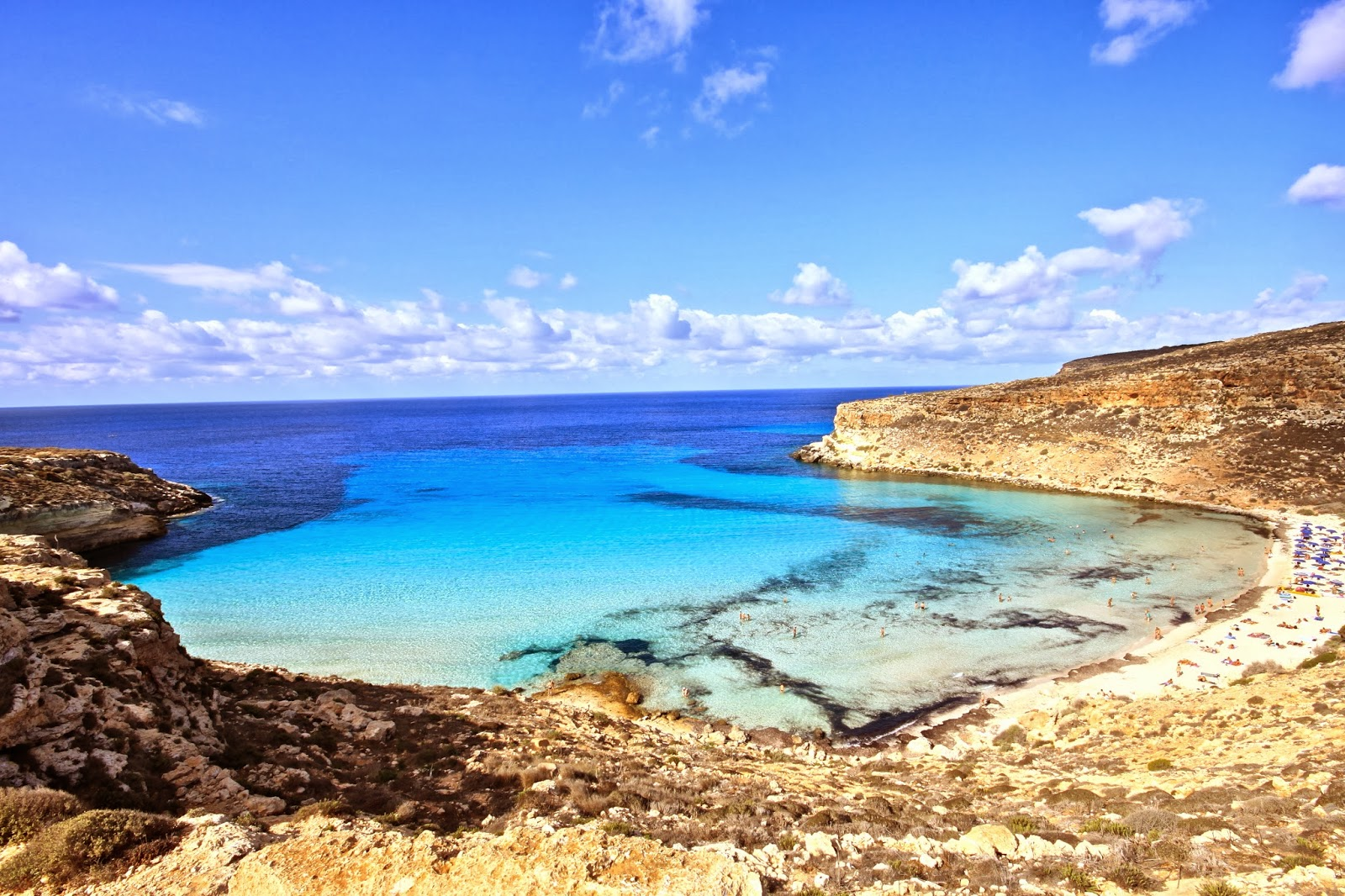 Rabbit Beach, Lampedusa, Italy - Top 10 Most Breathtaking Beaches In The World