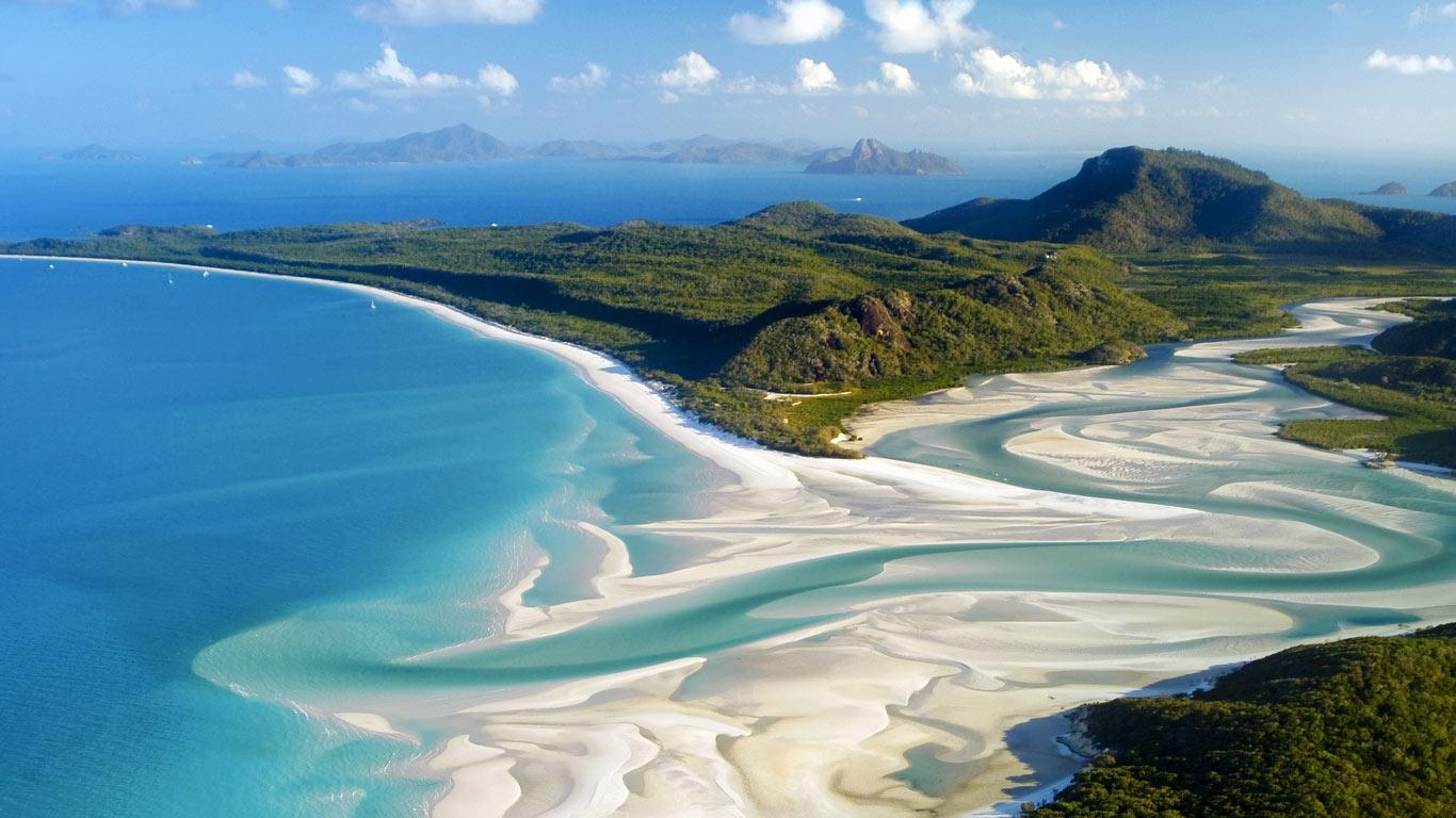Whitehaven Beach, Queensland, Australia - Top 10 Most Breathtaking Beaches In The World