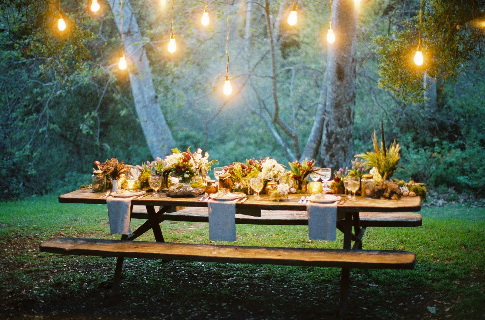 forest weddings - Summer Wedding Ideas