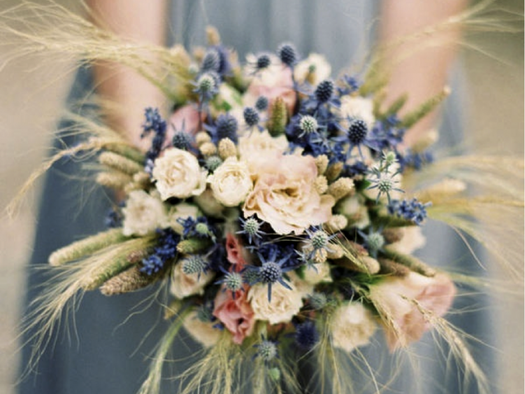 Lovely wildflowers bridal bouquet - Summer Wedding Ideas