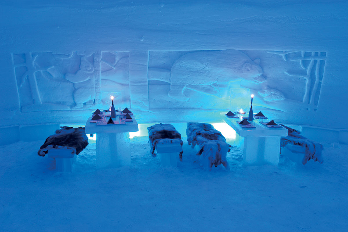 SnowRestaurant – Kemi, Finland - Top 10 Most Unusual Restaurants Around The World 1