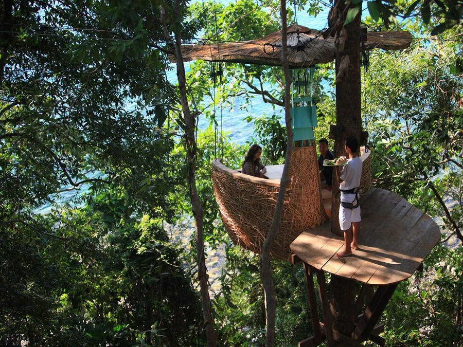 Treepod @ Soneva Kiri – Koh Kood, Bangkok - Top 10 Most Unusual Restaurants Around The World 1