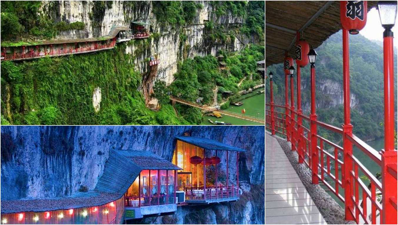 Fanweng Restaurant – Yichang, China - Top 10 Most Unusual Restaurants Around The World 1