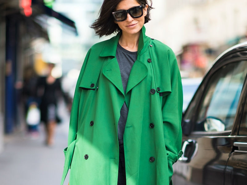 Blue jasmine and mint green - Top Fashion Trends For Fall 2014