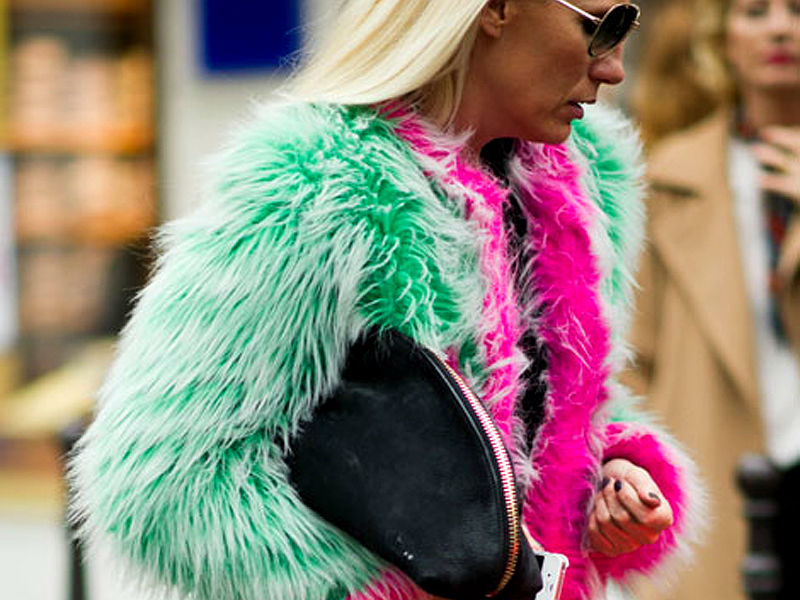 Fur - Top Fashion Trends For Fall 2014