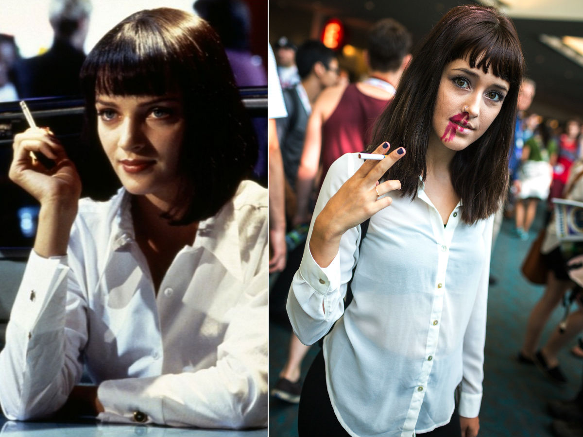1. Mia Wallace from Pulp Fiction
