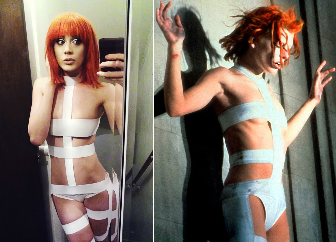 4. Leeloo from The Fifth Element