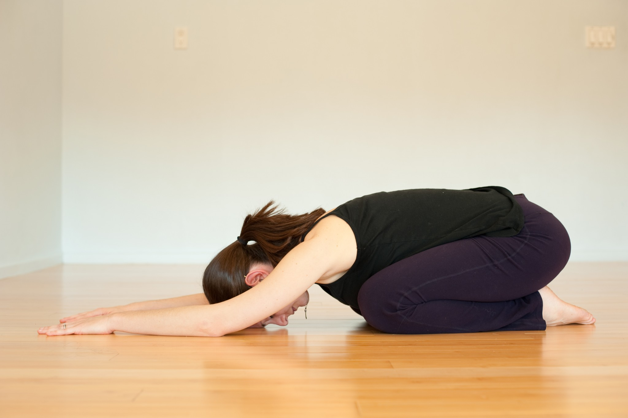 4. The Child Pose - The Best Yoga Poses for Pregnant Women