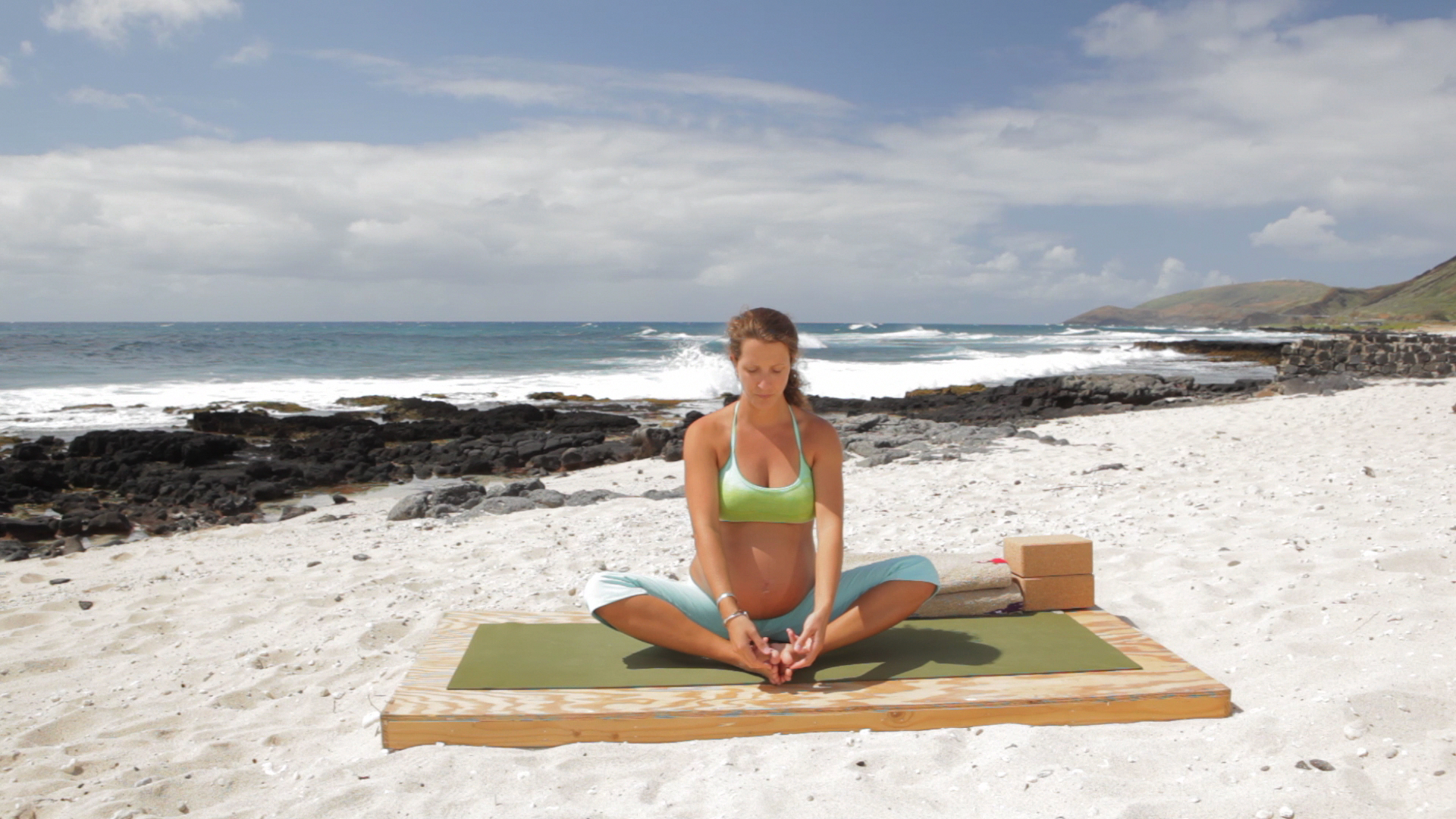 6. The Butterfly Pose - The BestYogaPosesforPregnantWomen