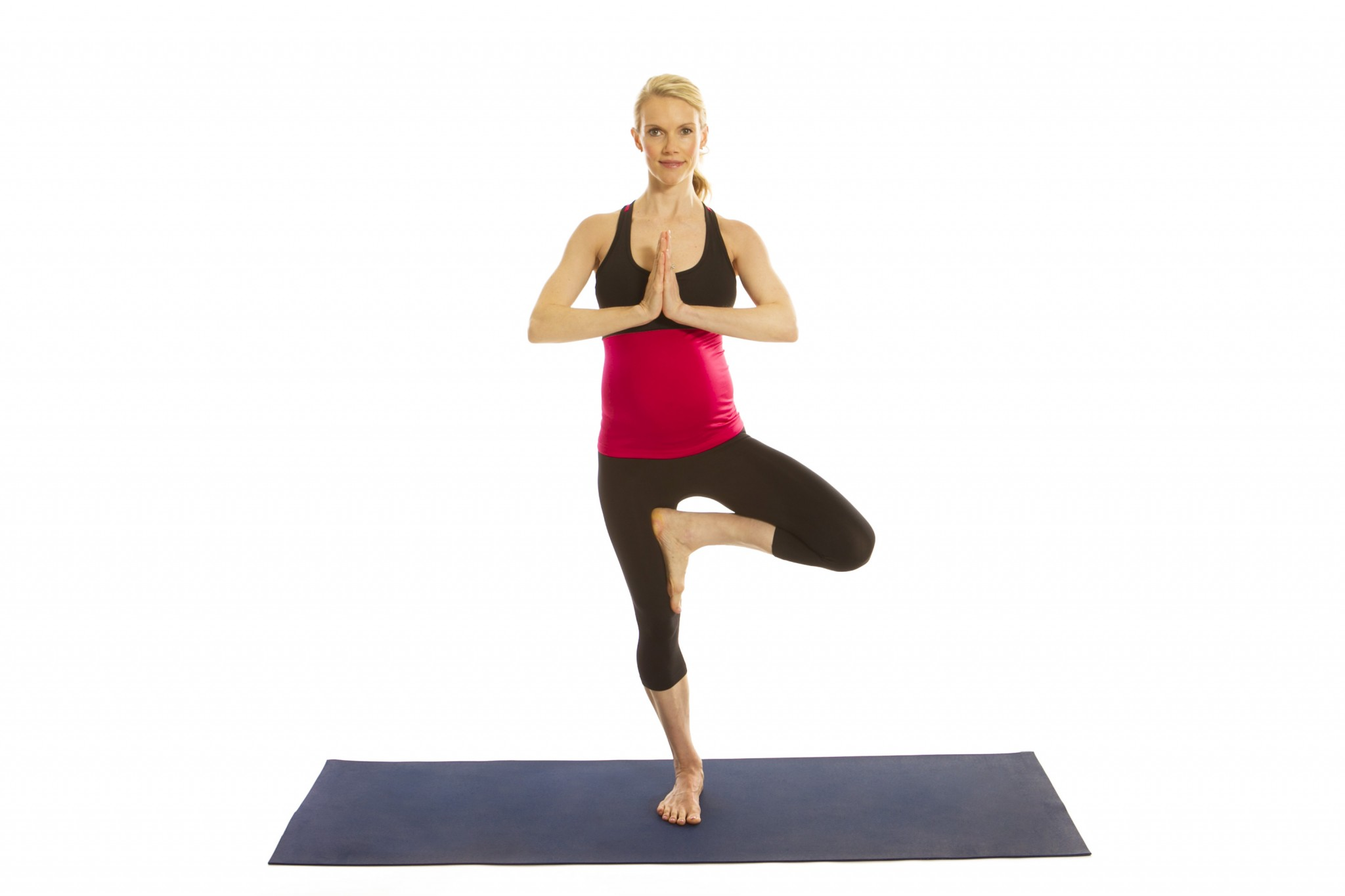 7. The Tree Pose - The Best Yoga Poses for Pregnant Women