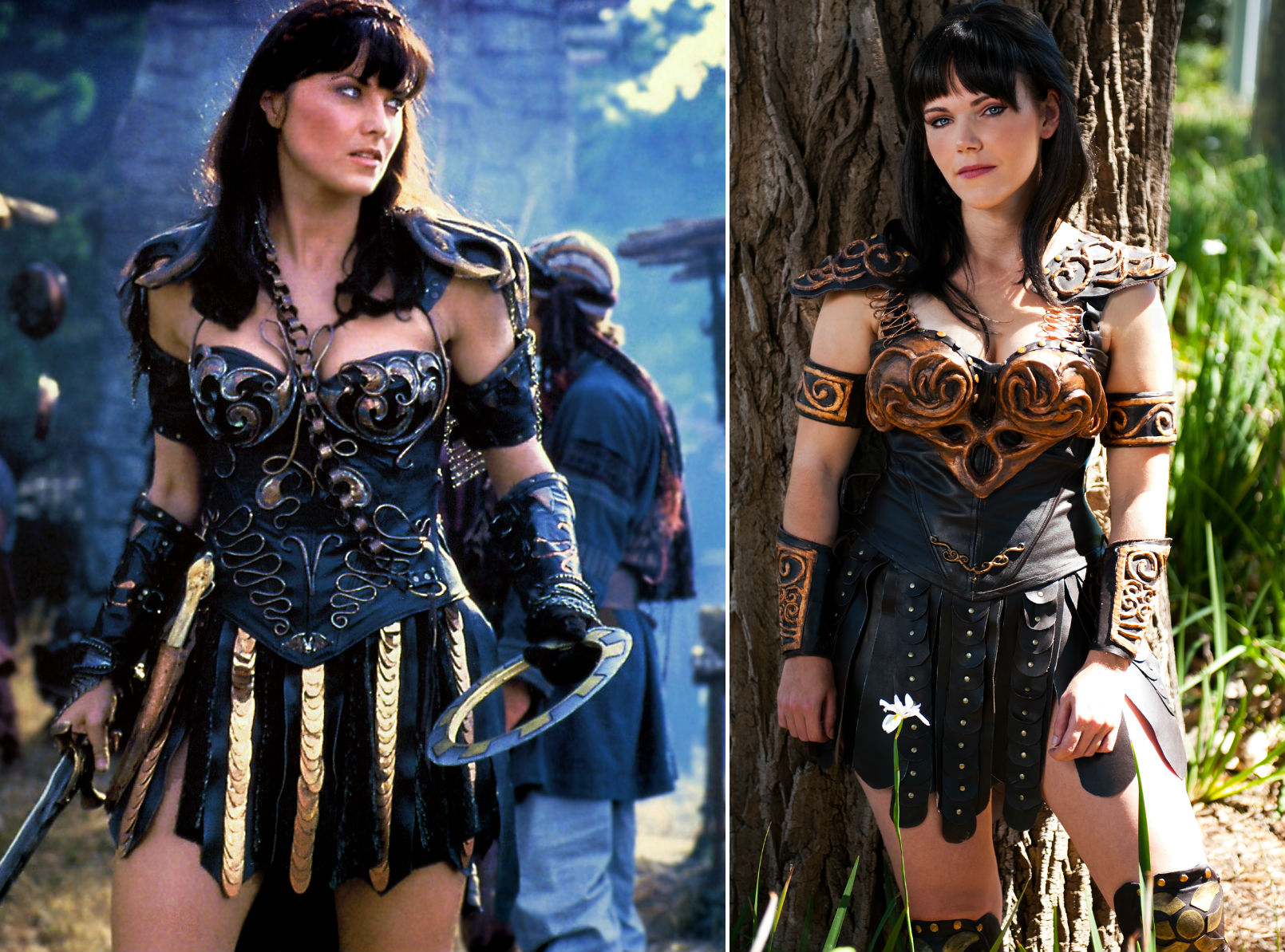 8. Xena from Xena Warrior Princess