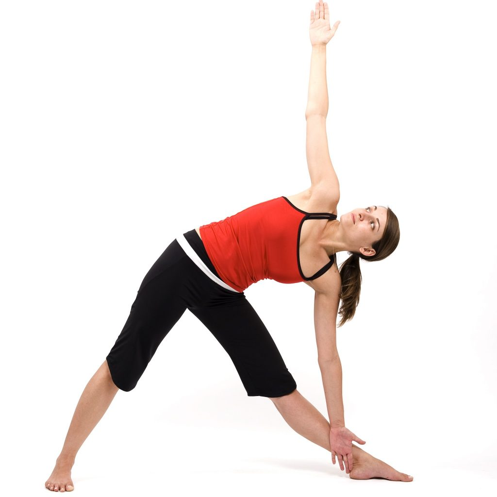 8. The Triangle Pose - The BestYogaPosesforPregnantWomen