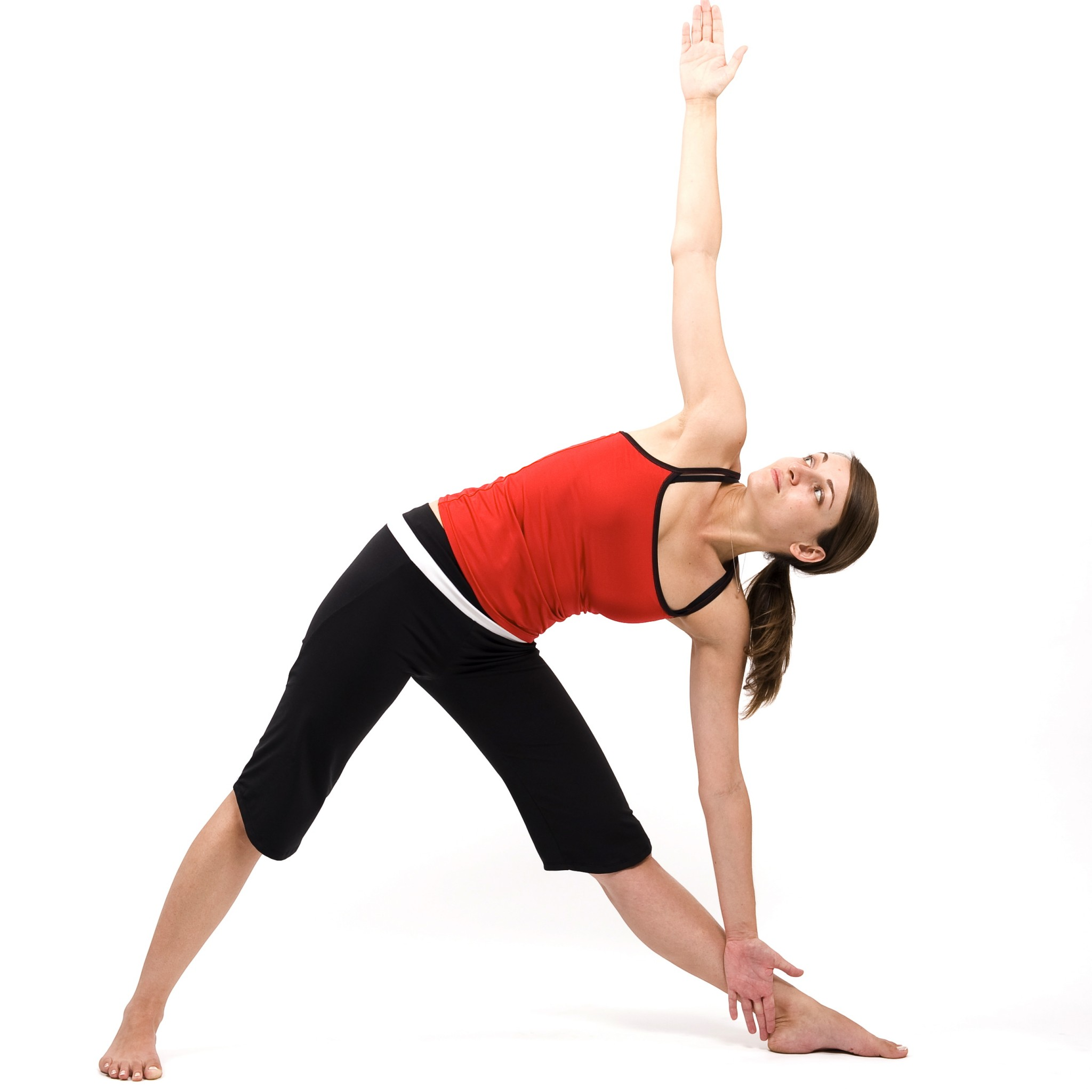 8. The Triangle Pose - The Best Yoga Poses for Pregnant Women