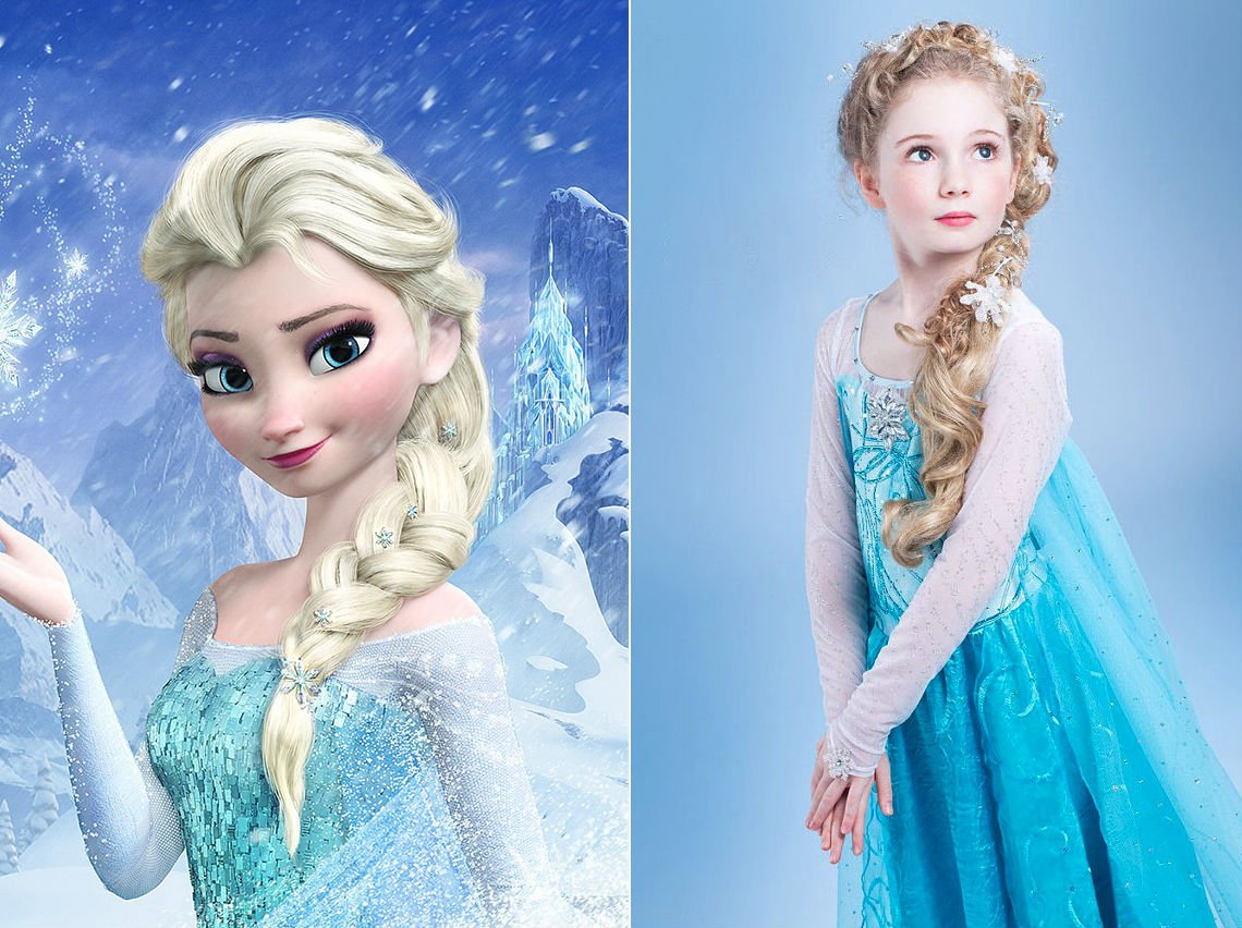 Frozen Elsa Hair Tutorials for Your Little Cutie