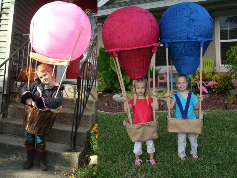 Hot Air Ballon Costume - Hilarious ideas for kids' Halloween costumes