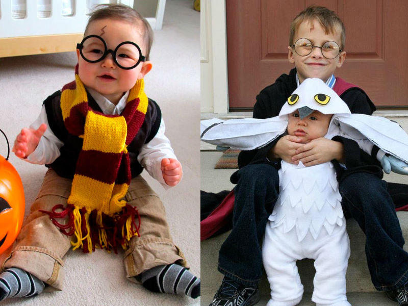 Harry Potter Costume - Hilarious ideas for kids' Halloween costumes