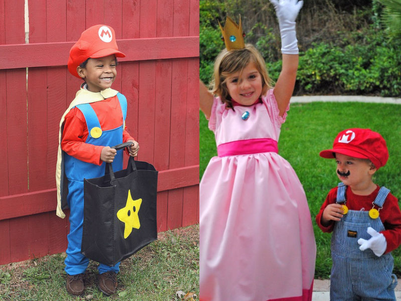 Mario Brothers Costume - Hilarious ideas for kids' Halloween costumes