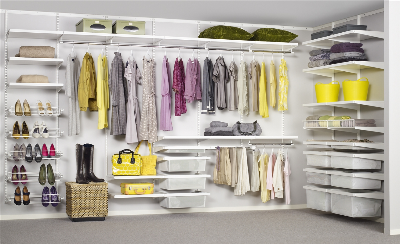 2. Hanging Space - 10 Genius Ways to Organize Your Closet