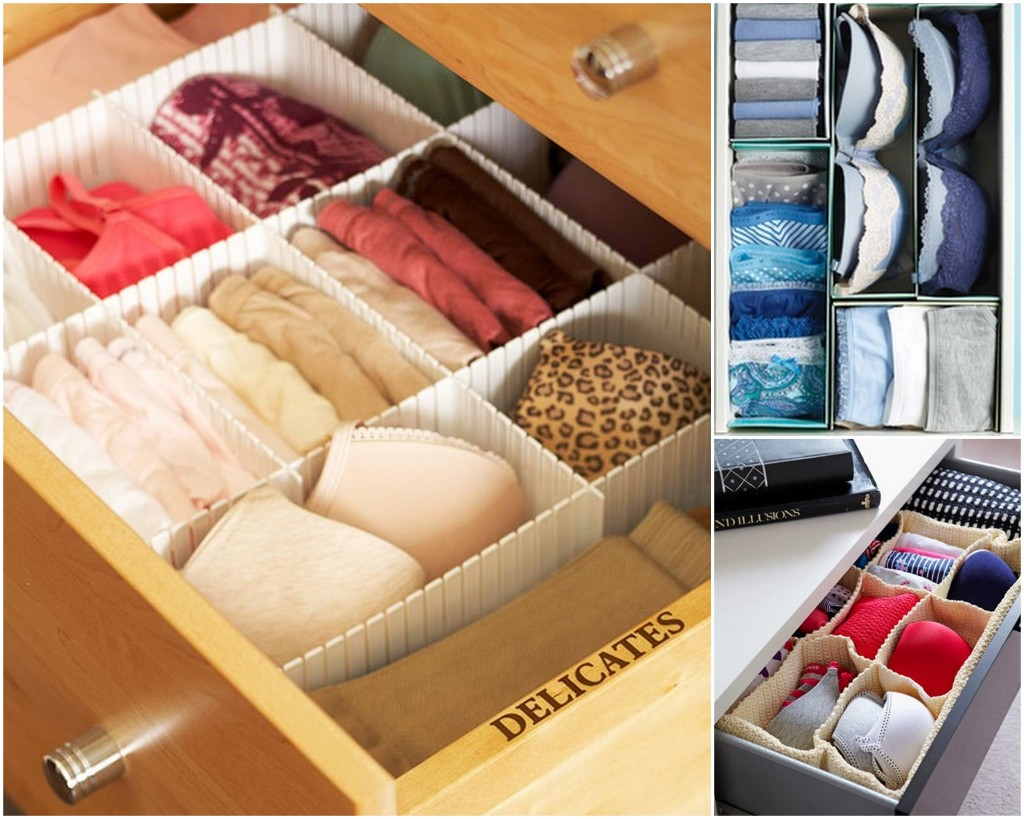 4. Chest of Drawers - 10 Genius Ways to Organize Your Closet