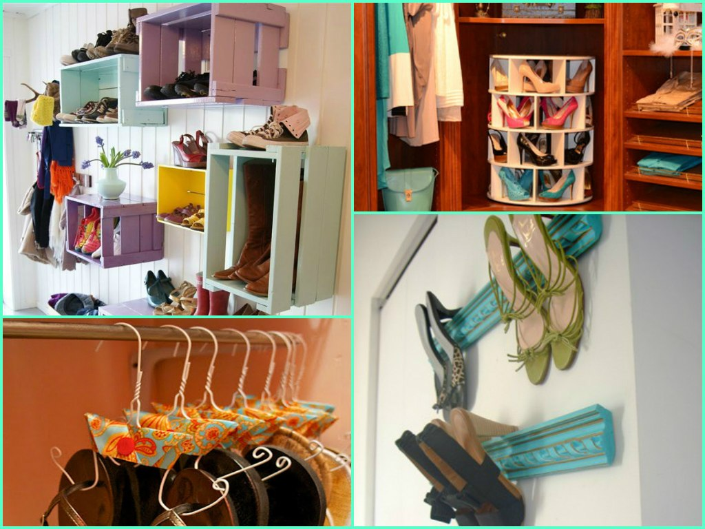 7.Organise shoes - 10 Genius Ways to Organize Your Closet