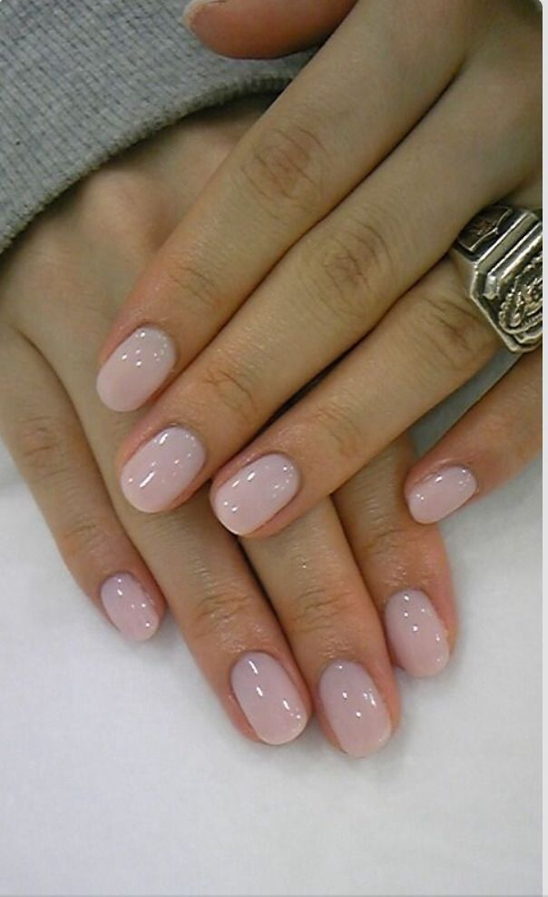 Natural nail length and shape