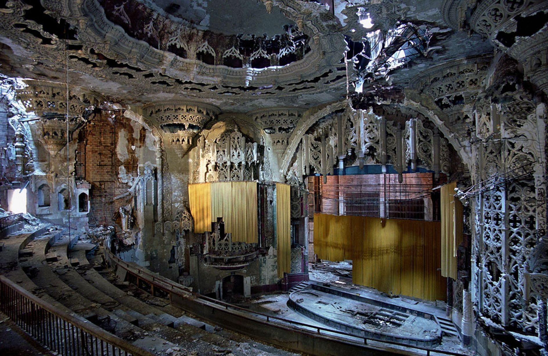 14. The Gothic Theater [Detroit,USA]