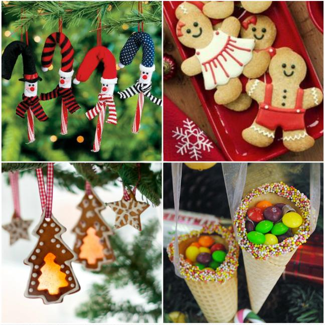 3. Candy Canes and Gingerbread Men